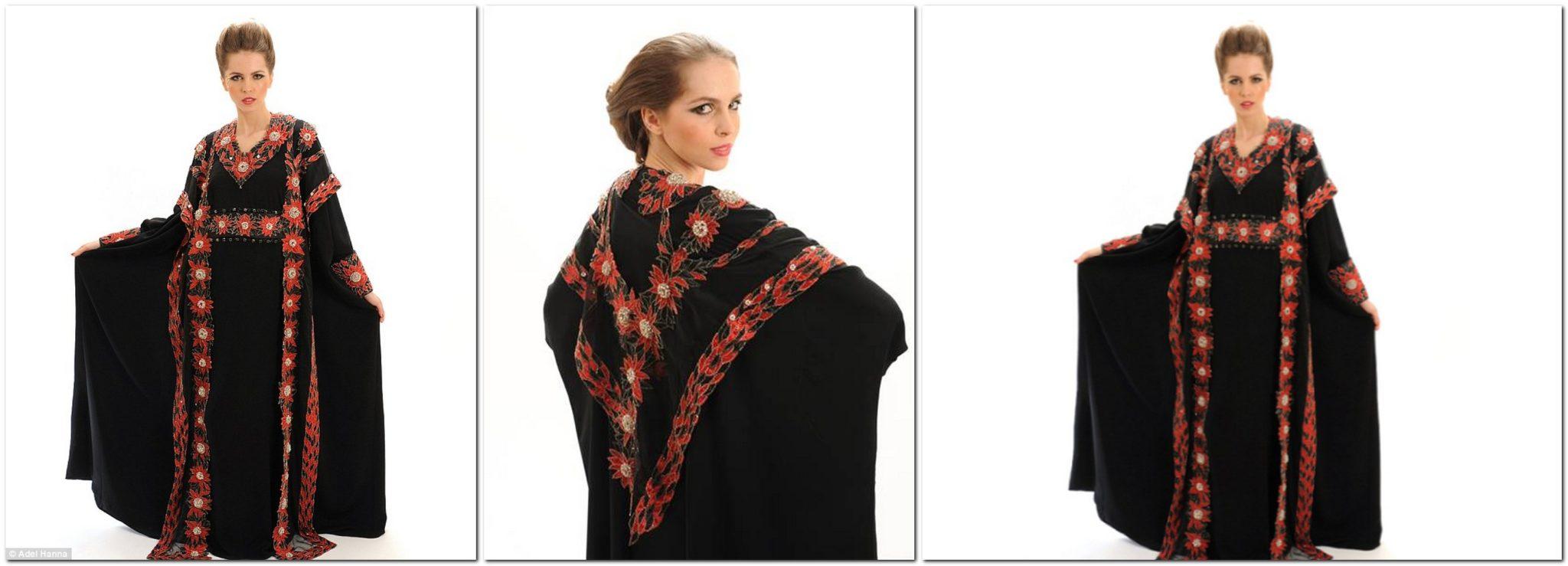 Abaya, designed by Debbie Wingham.