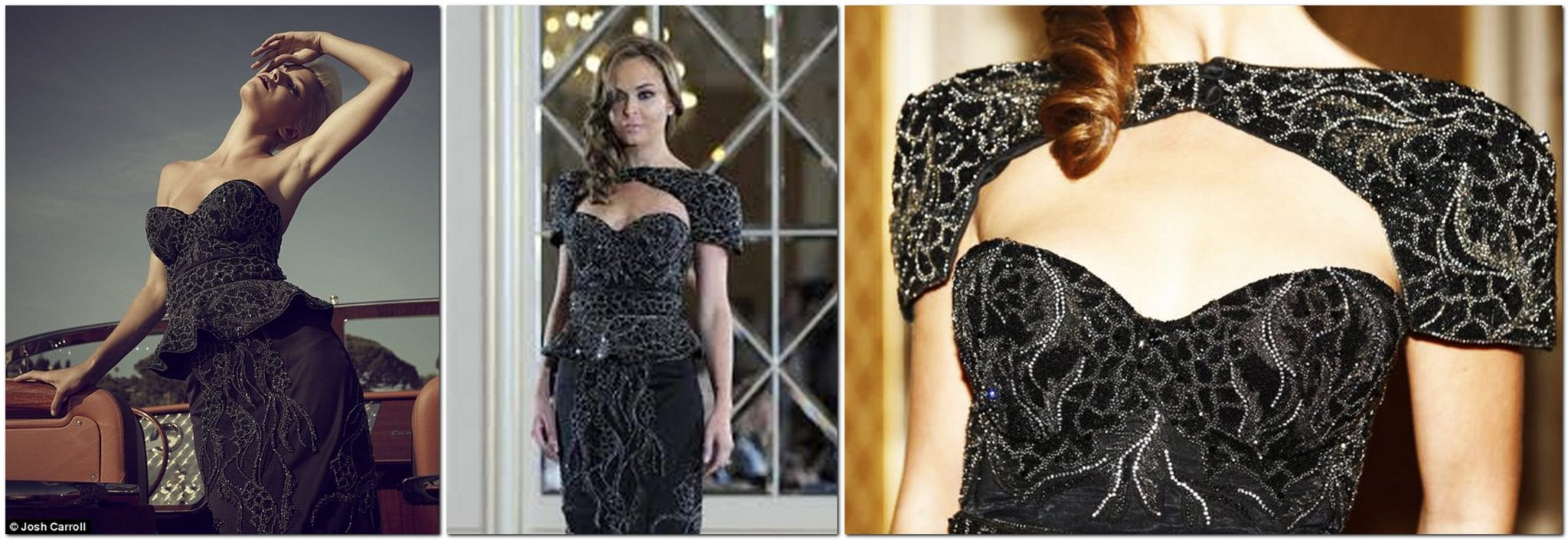 Black Diamond Dress by Debbie Wingham