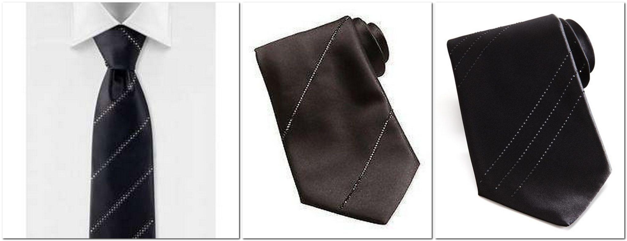 Stefano Ricci's formal crystal tie