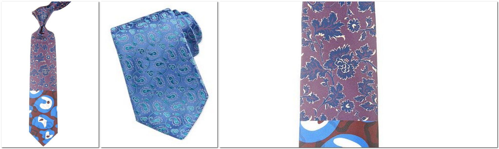 Christian Lacroix Tie Fantasy Pattern