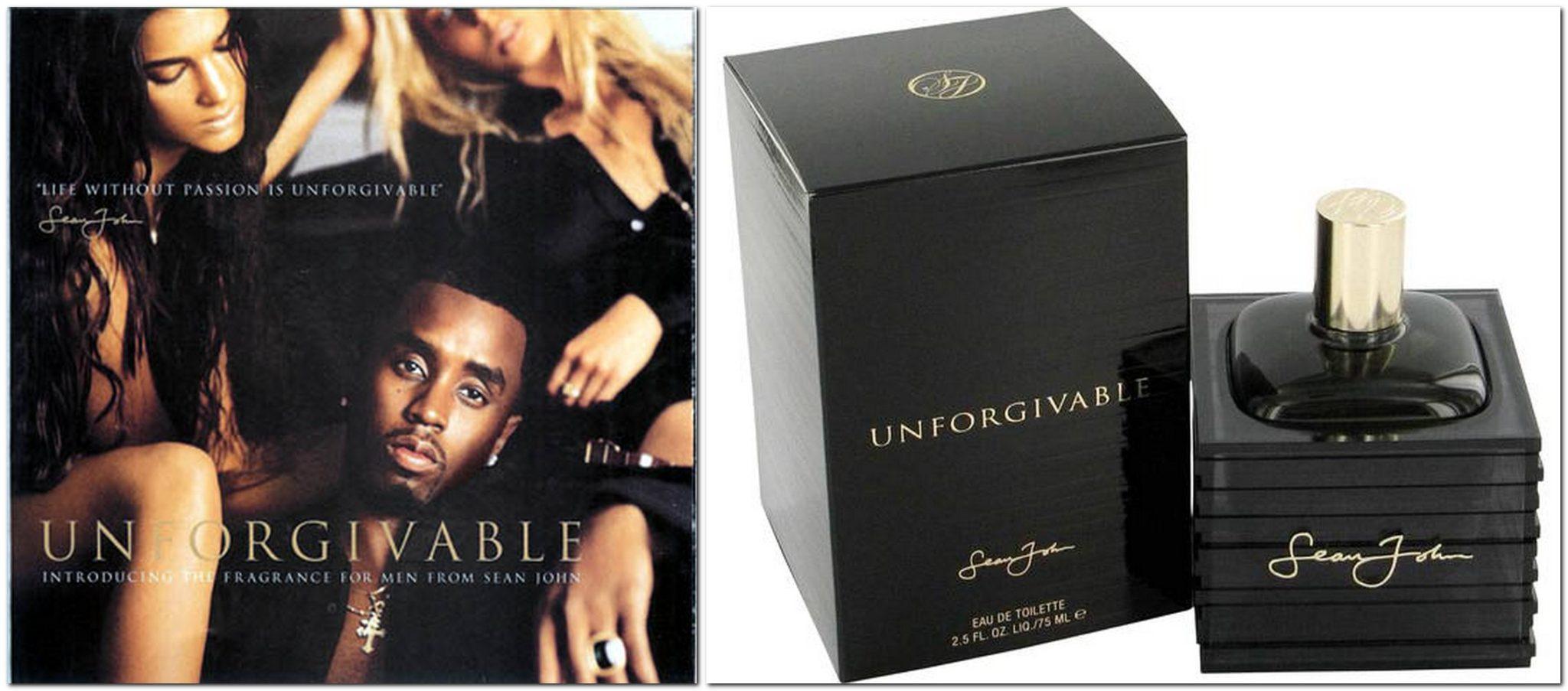 Unforgiveable by P. Diddy, Sean John brand